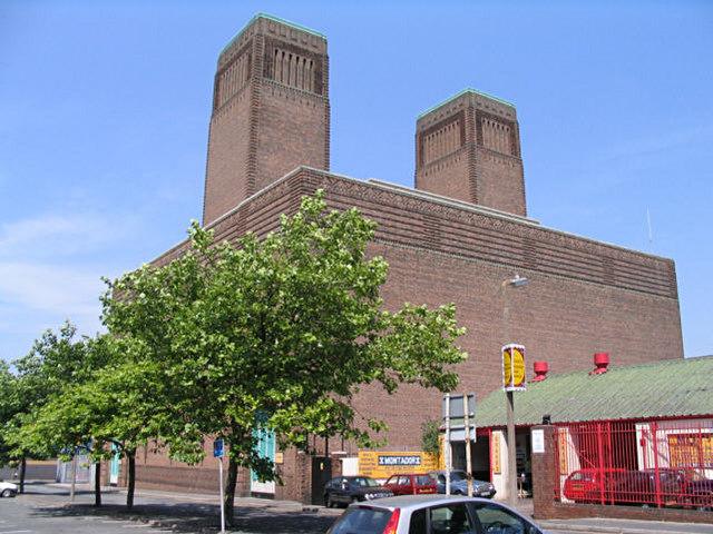 Ventilating station, Sidney Street