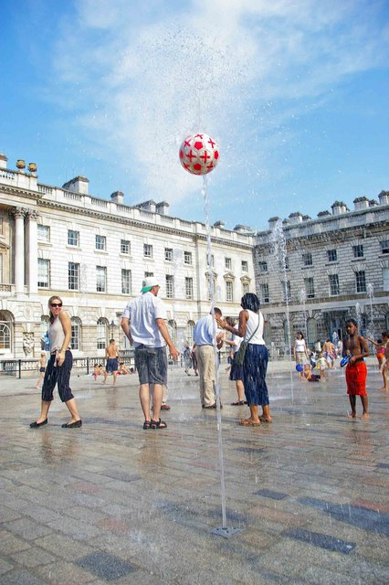 Fluid Dynamics in Somerset House