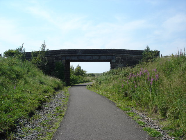 Bridge over NR75 cycle route near Blackridge , West Lothian