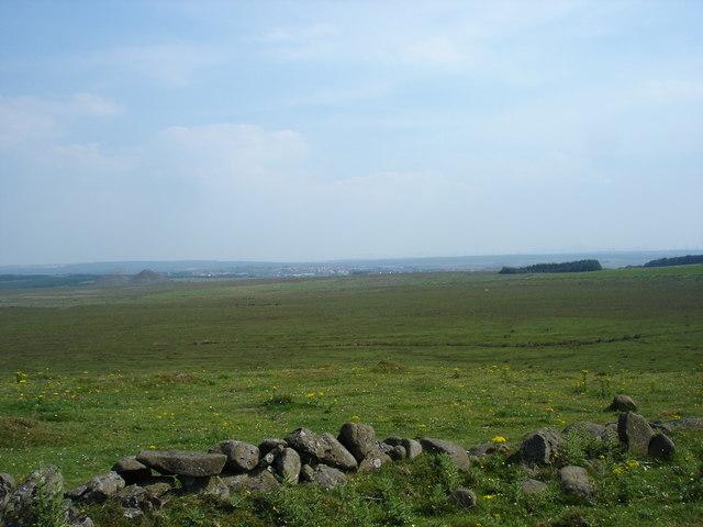 Moorland between Harthill and Shotts