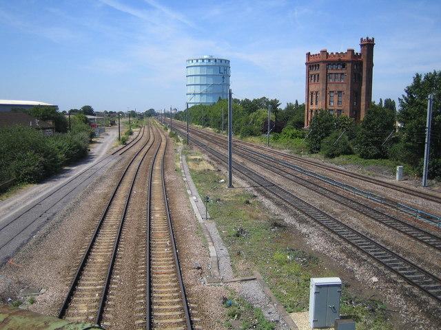 Southall: Main line railway
