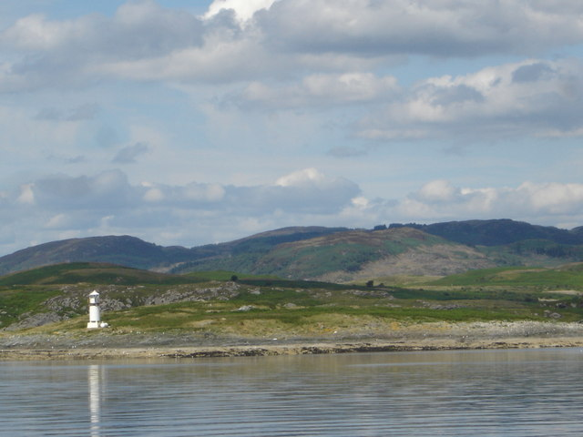 Island of Sgat Mor off the southern end of the Cowal Peninsula, Loch Fyne