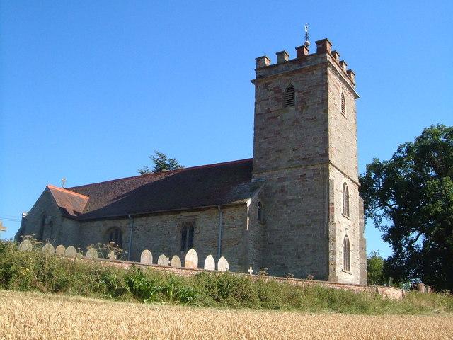 St Bartholomew's church, Bayton