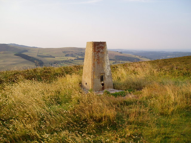 Trig Point on Moel Gyw