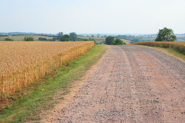 Farm road to Seldom Seen Farm