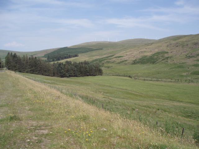 Hill farm, Glen Afton