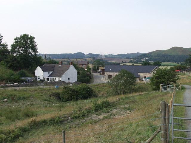 Graig Farm near Llandegla