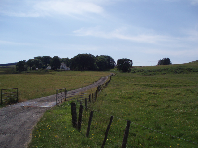 Pencloe Farm, Glen Afton