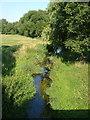 SJ8628 : River Sow at Chebsey by Derek Harper