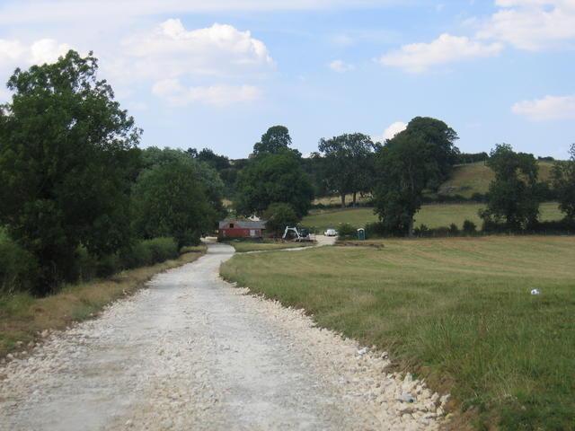 Barn conversion on Cherington Hill