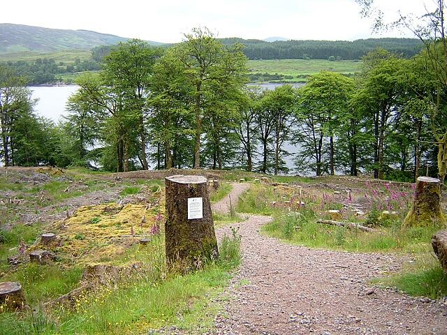 Long Distance Footpath in Great Glen