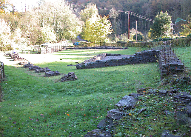 The Ruins of the Abbey Tintern Blast Furnace
