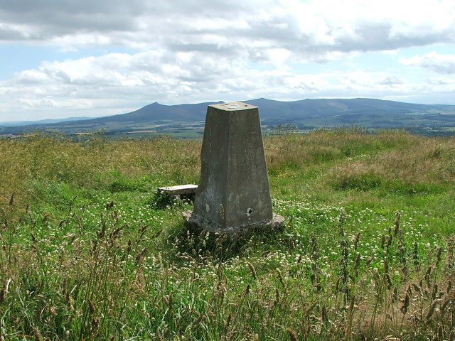 Rothmaise trig point in summer