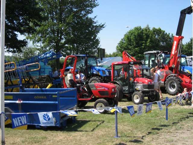 Farm Machinery At Driffield Show