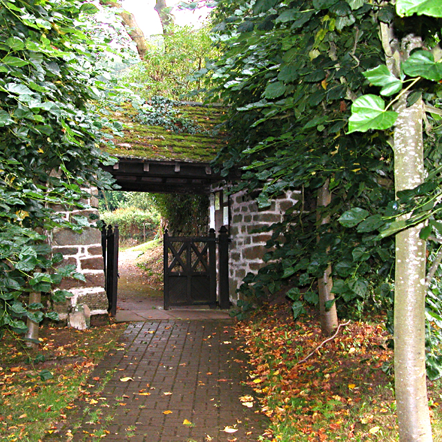The Lych Gate of The Old Church Penallt