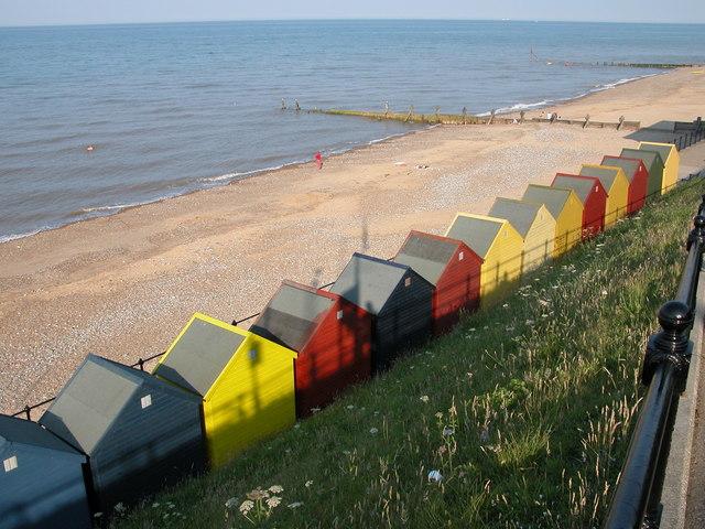 Beach Huts, Mundesley