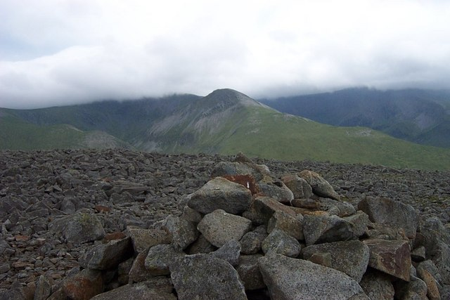 Drosgl summit cairn
