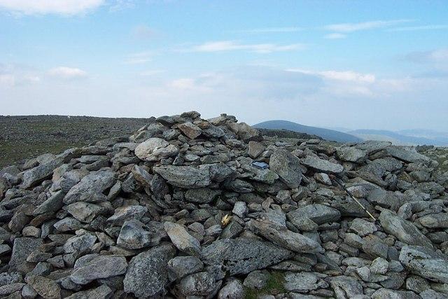 Carnedd Llewelyn main summit cairn