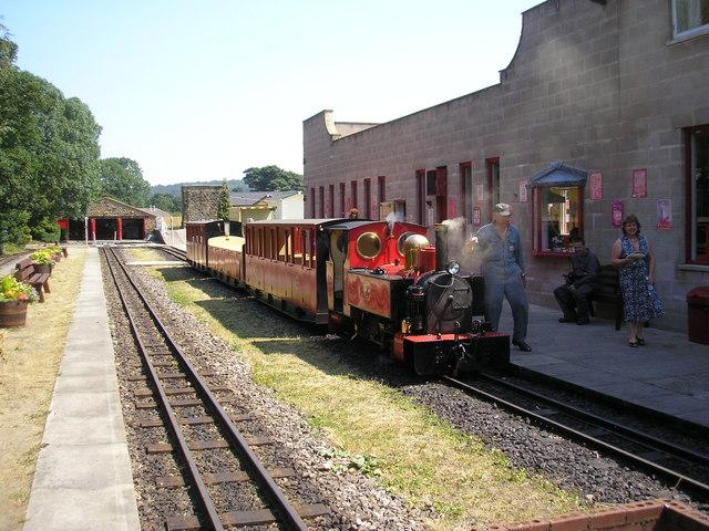 Kirklees Light Railway, Clayton West, Yorkshire