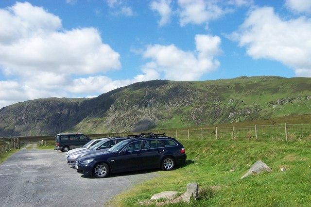 Cwm Eigiau car park