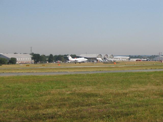 Farnborough Arrival