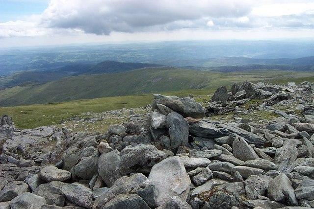 Foel Grach summit cairn