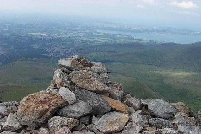 Carnedd Dafydd Summit Cairn