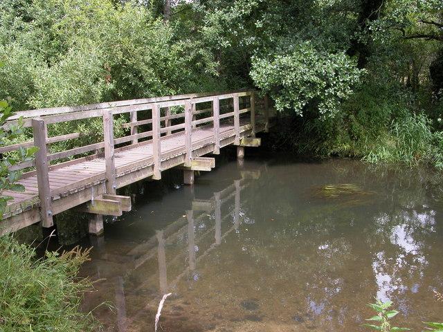 Footbridge over the River Bure