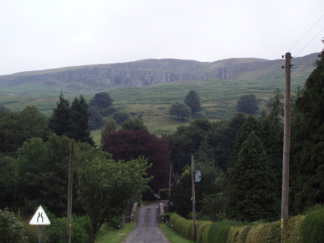 Fintry Hills above Gonachan Cottage