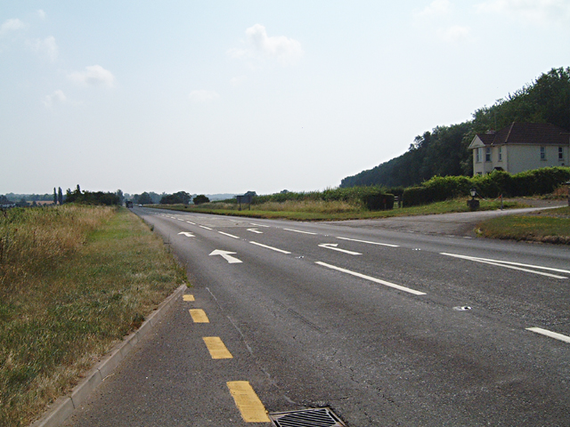 The A48 Between Five Lanes and Caerwent