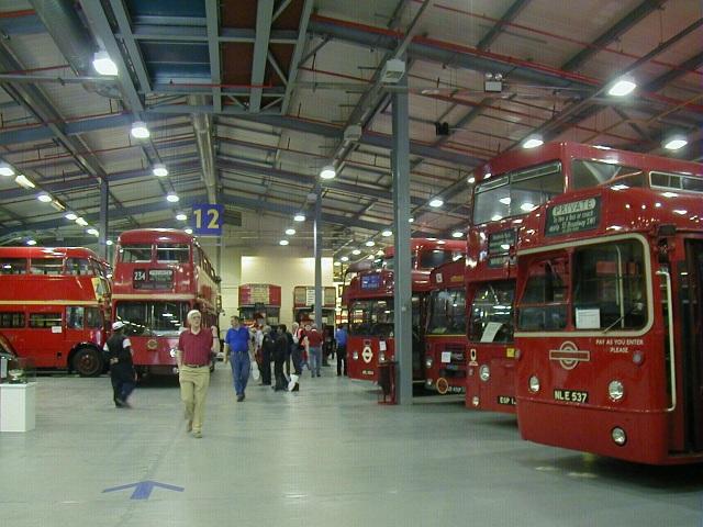 Acton London Transport Museum Depot