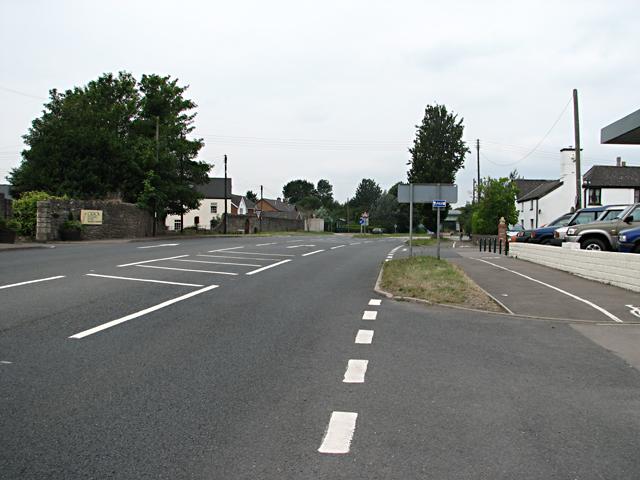 Crick - Start of Dual Carriageway