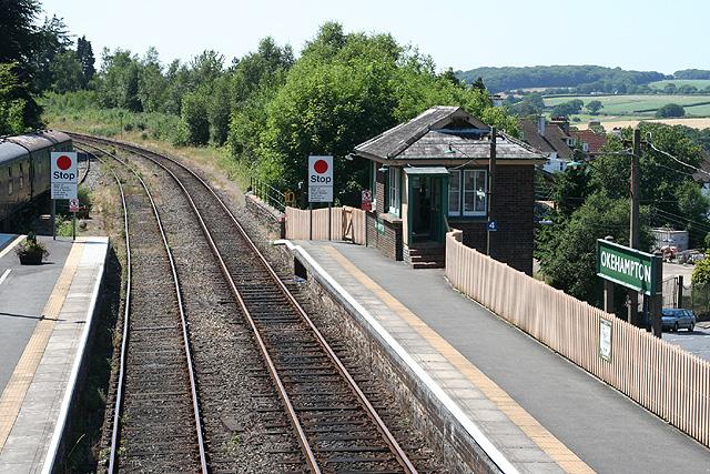 Okehampton Railway Station
