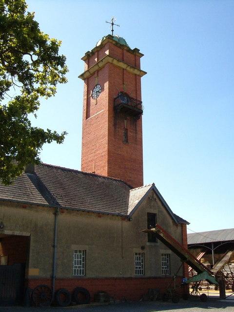 Tower near Brongain, Llanfechain