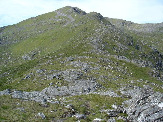 NE Ridge Sgurr nan Ceathreamhnan, Glen Affric