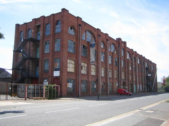 Hayes: Benlow Works, Silverdale Road