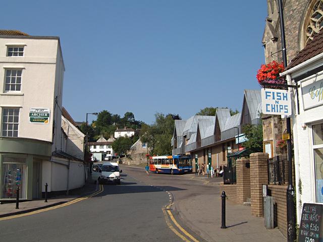 Chepstow Bus Station in Thomas Street