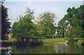 TL8138 : Pond at Gestingthorpe by Stephen Craven