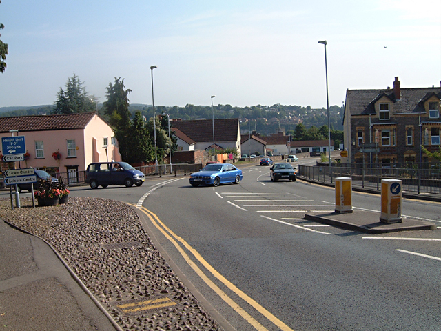 Chepstow Bypass from Mount Pleasant