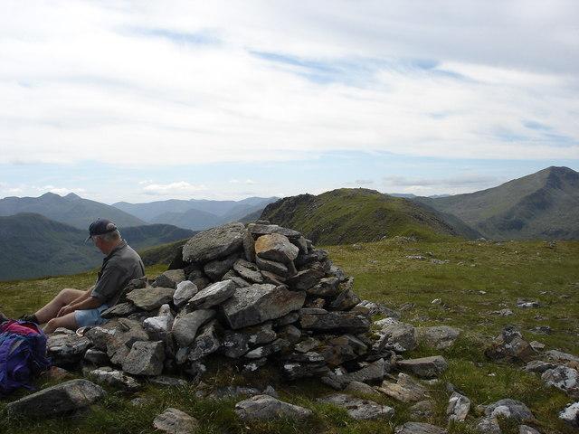 Summit of Mullach Sithidh, Glen Affric