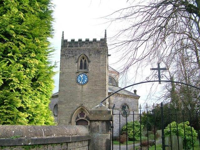 Church, Stoney Middleton