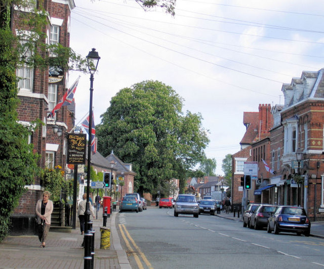 High Street, Tarporley