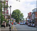 SJ5562 : High Street, Tarporley by Alan Godfree