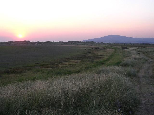Scarth Bight at Sunset