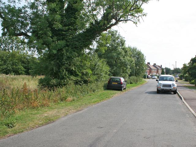 Anstey Lane, Groby