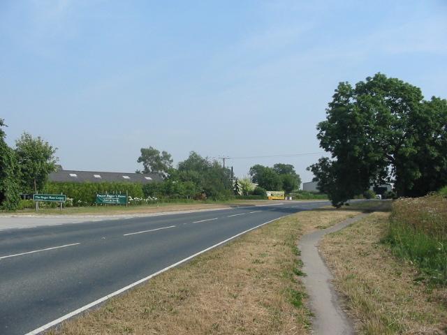 The A169 Malton Road one kilometre south of Pickering