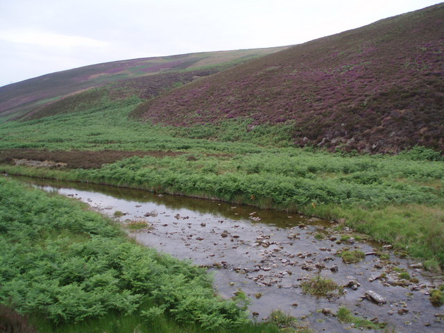 Faseny Water and Penshiel Hill