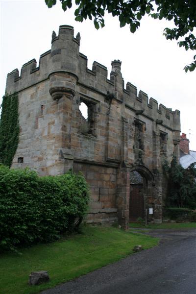 Remains of Mackworth Castle