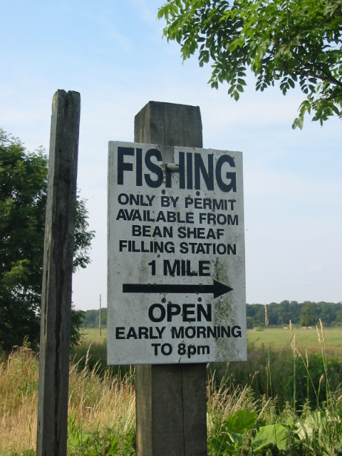Fishing Permits available