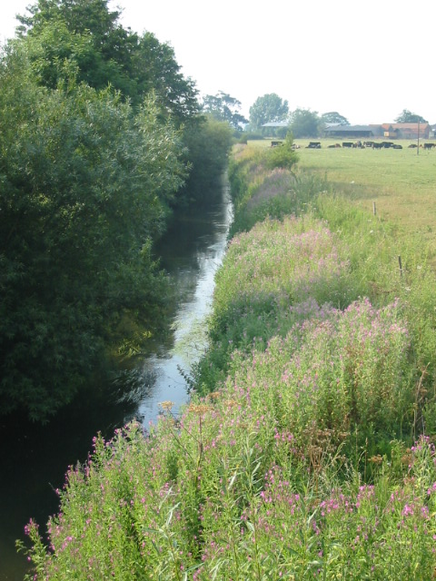 Pickering Beck seen from the road bridge looking north